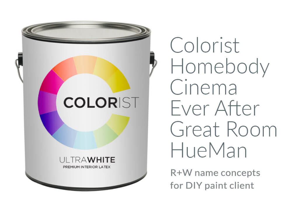 naming coming up with good brand names - Paint Brand Names